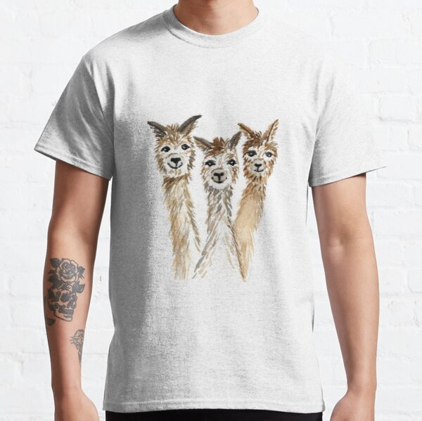 Hello There Alpacas Classic T-Shirt