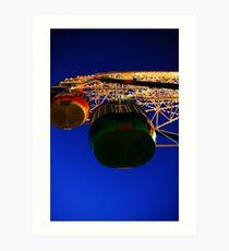 Ferris Wheel - Luna Park. Art Print