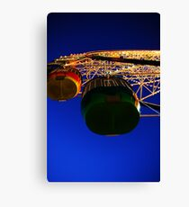 Ferris Wheel - Luna Park. Canvas Print