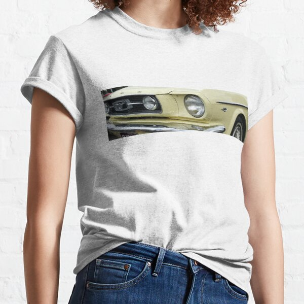 Yellow Mustang Classic T-Shirt