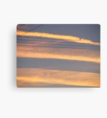 skylines. Canvas Print