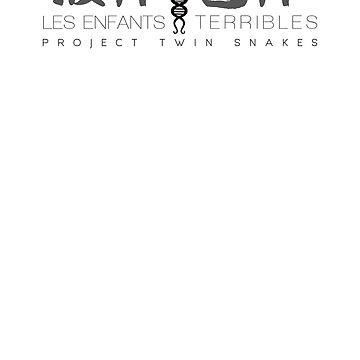 Metal Gear Solid - Les Enfants Terribles - Grey Clean by garudoh
