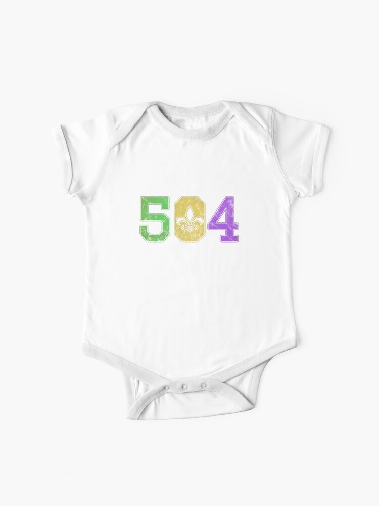 Esprexx Mardi Gras 2019 Colorful White New Orleans Ladies T-Shirt
