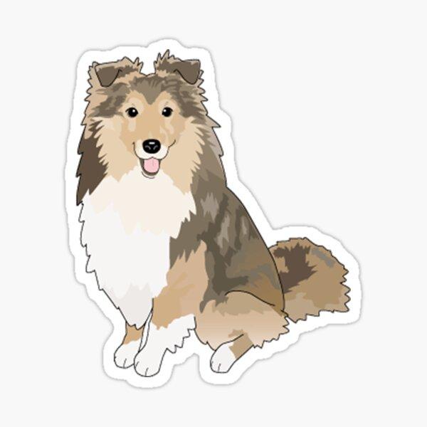 Sheltie Dog Sticker