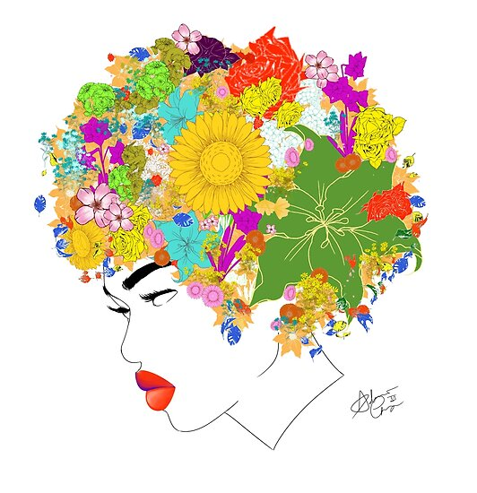 Flower 'Fro ver. 3 by AndiesPlace