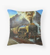 "A1 ""Balmoral"" leaves Kings Cross Throw Pillow"