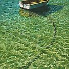 Shallow Mooring at Sorrento by Freda Surgenor