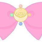 Pastel Sailor Moon Crystal Brooch and Bow by Anzadesu