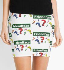Friendface Question Marks Mini Skirt