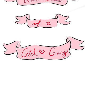 Girl Gang- In Pink by theirgrace