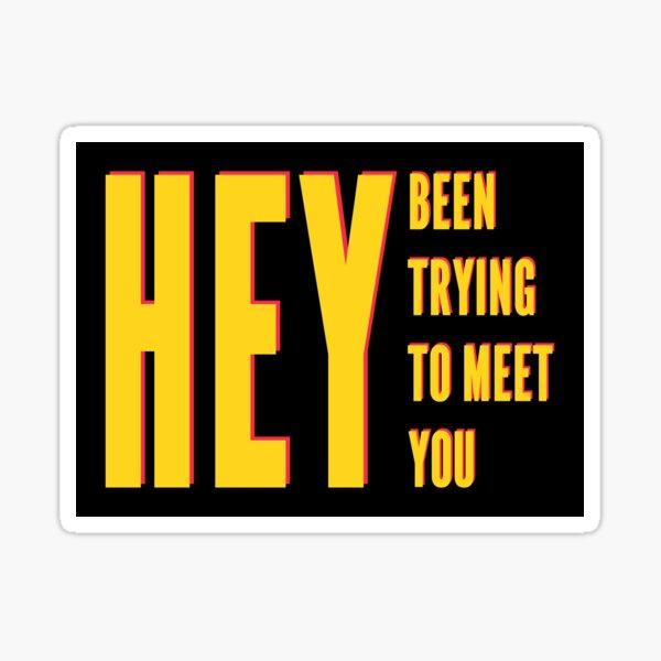 Pixies - Hey Sticker