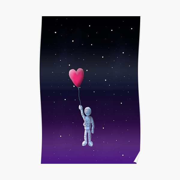 Love to the moon and back Poster