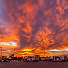 Clouds on Fire by robcaddy