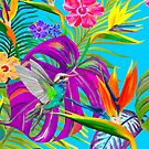 PCD3029-TROPICAL PARADISE by Jackie Werner