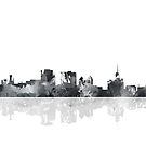 Buffalo New York Skyline von Marlene Watson