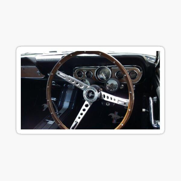 Mustang Interior Sticker