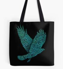 Blauer Vogel Tote Bag