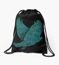 Blauer Vogel Turnbeutel