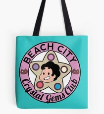 Steven Universe - Beach City Crystal Gems Club Tote Bag