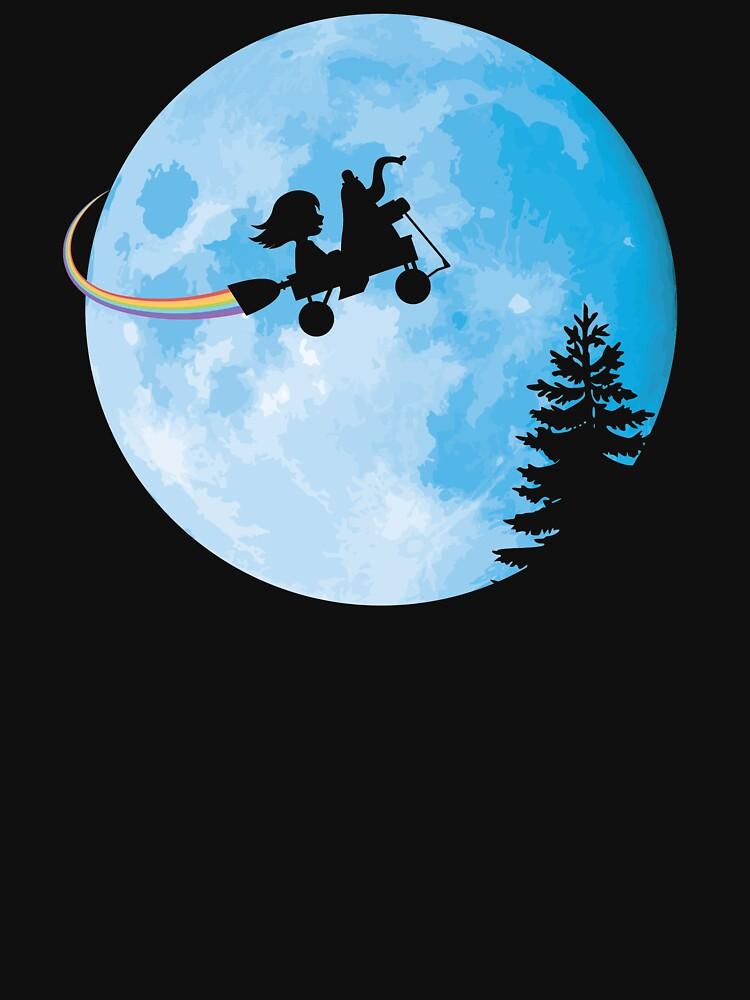 Sie zum Mond bringen von someimagination