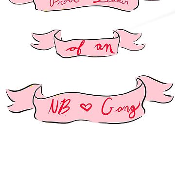 NB Gang- In Pink by theirgrace