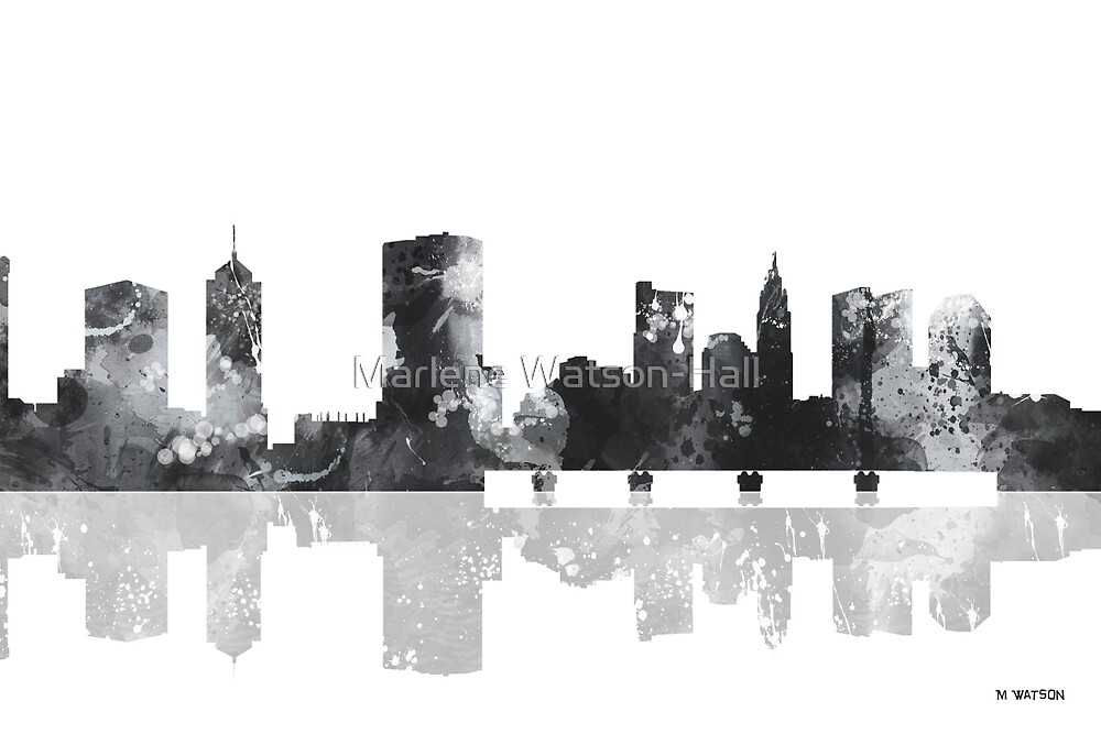 Columbus Ohio Skyline by Marlene Watson