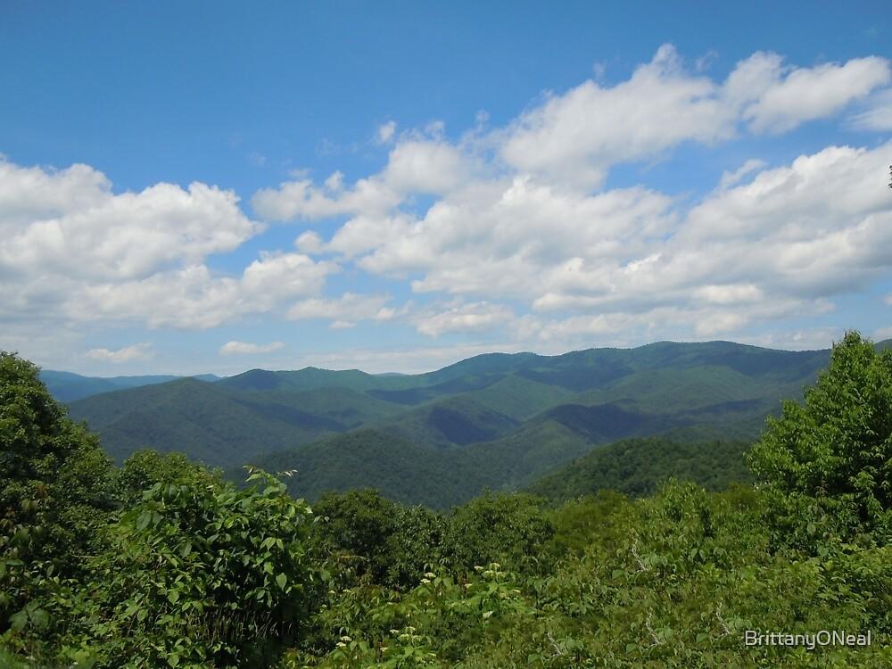 Kentucky Mountain Range by BrittanyONeal