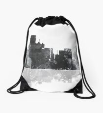 Dallas Texas Skyline Drawstring Bag