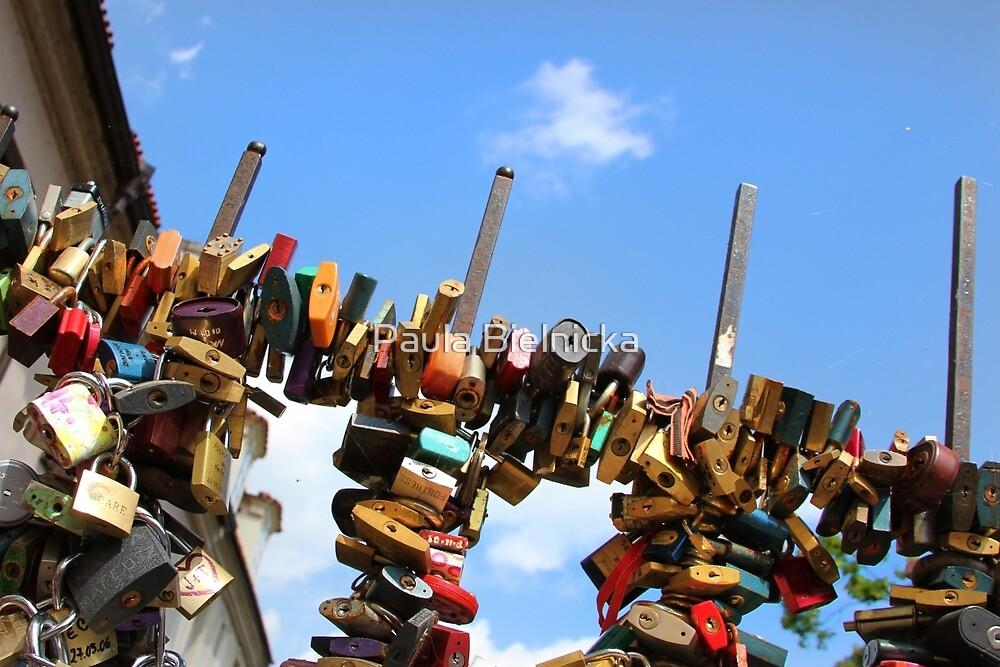 Love Locks by Paula Bielnicka