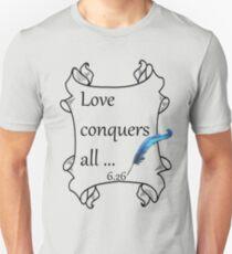 Liebe besiegt alles Slim Fit T-Shirt