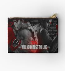 Will You Cross the Line Studio Pouch