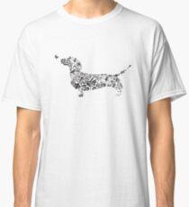 Camiseta clásica Camiseta Dachshund 2