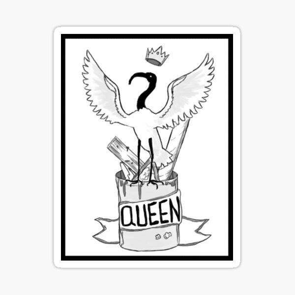 Ibis Queen Sticker