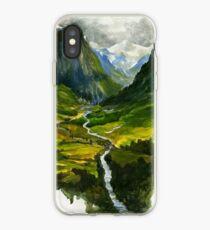 Vinilo o funda para iPhone El valle escondido