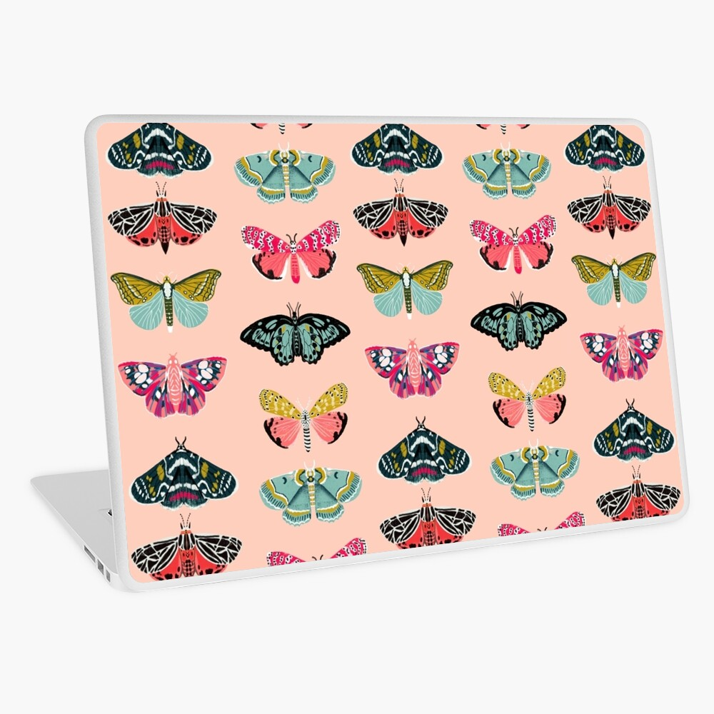 Lepidoptery No. 1 by Andrea Lauren  Laptop Skin