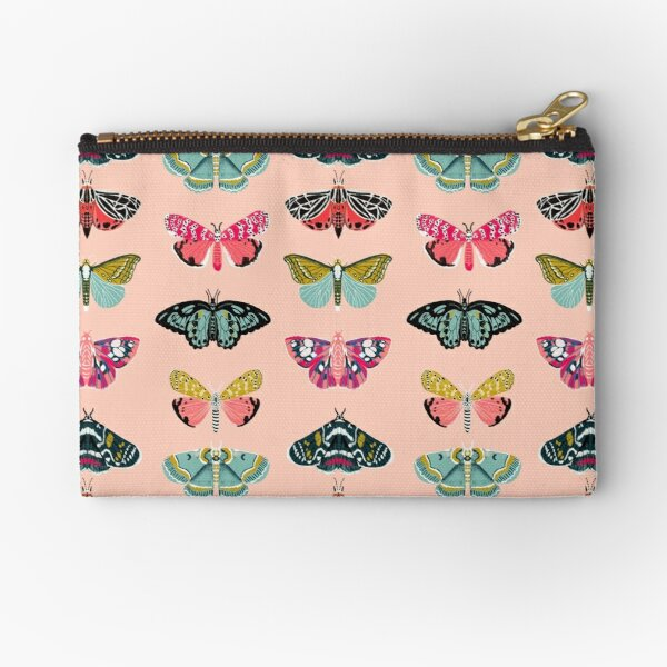 Lepidoptery No. 1 by Andrea Lauren  Zipper Pouch