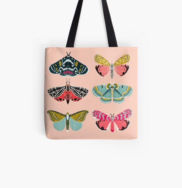 Lepidoptery No. 1 by Andrea Lauren  All Over Print Tote Bag
