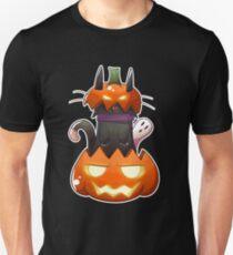 Jack O' Lantern Cat Unisex T-Shirt
