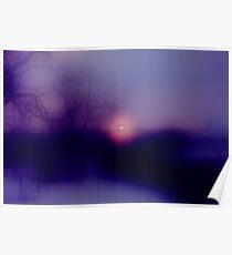 Sunrise in Austria Poster