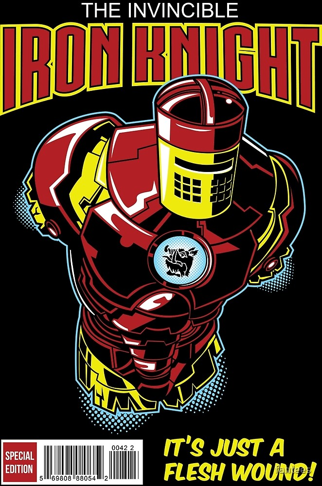 The Iron Knight by fantees
