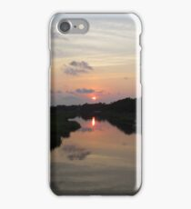 Sunset Over The Marsh iPhone Case/Skin