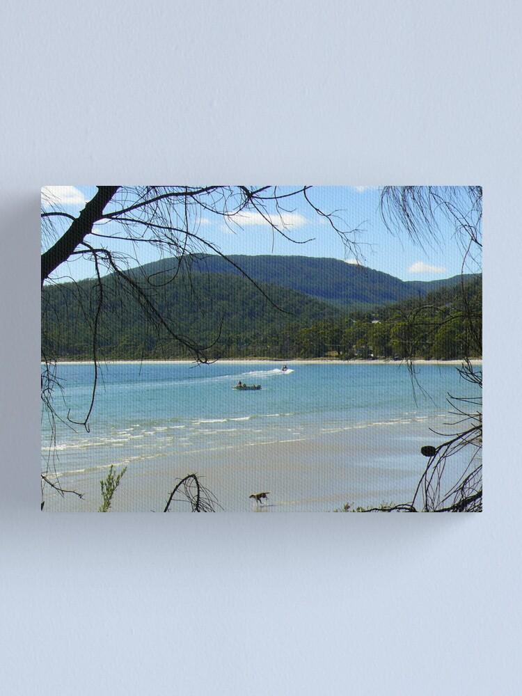 Alternate view of White Beach Canvas Print