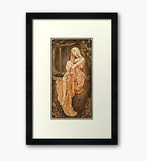 Art Nouveau: 'The Wish' Framed Print