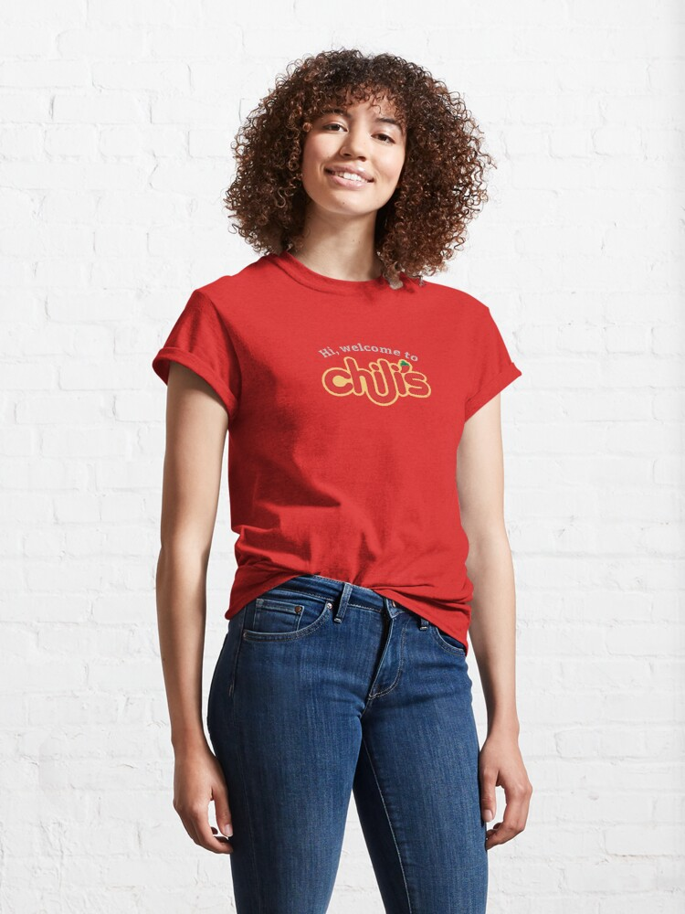 Alternate view of Welcome to chili's Classic T-Shirt
