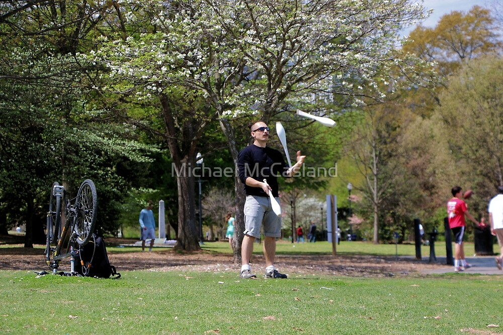 Juggling for Attention by Michael McCasland