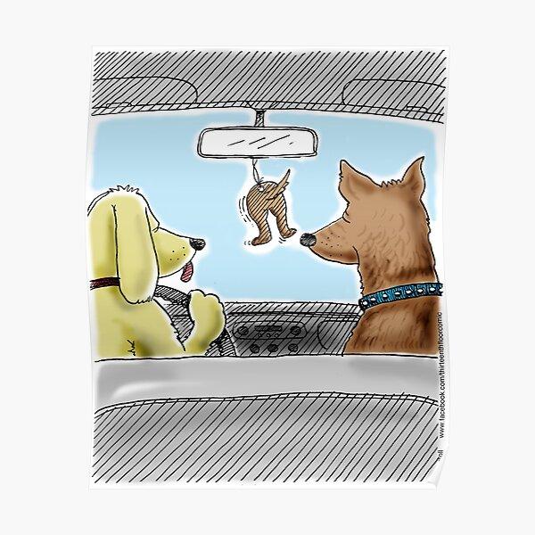 Doggie Air Freshener - doggone true Poster
