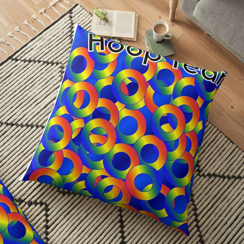 Hoop Team Floor Pillow