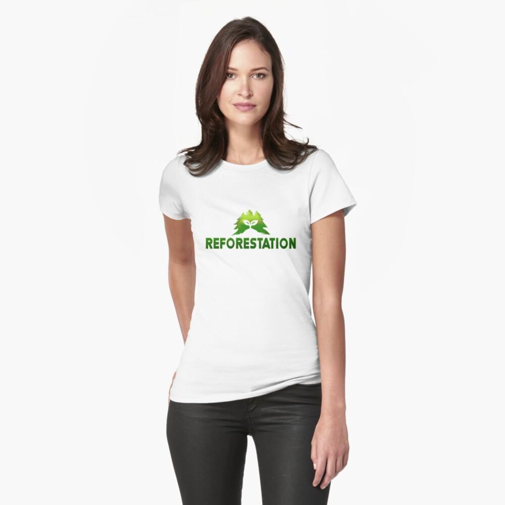 Julia Chang Reforestation T Shirt By Zhengzen Redbubble