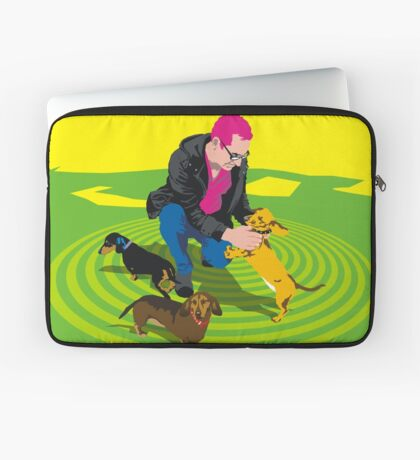 Alma Park Dachshunds Laptop Sleeve