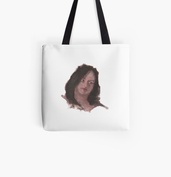 SM Woman Painting 01 All Over Print Tote Bag